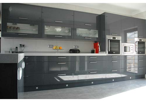 Beautiful High Gloss Grey Kitchen 500 x 350 · 40 kB · jpeg