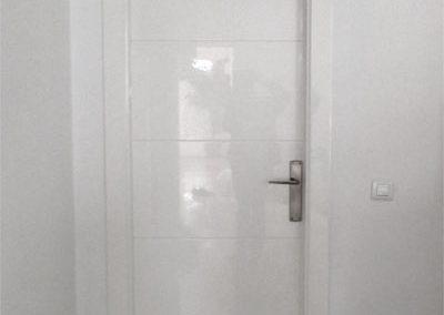 Gloss internal door