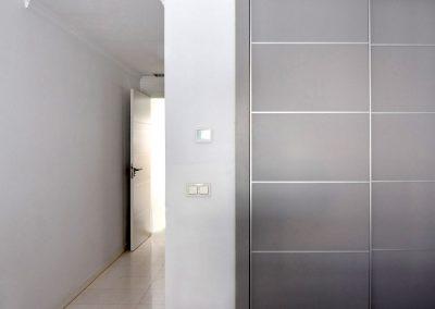 Matt Grey Lacquer Sliding Wardrobe Doors Marbella_1