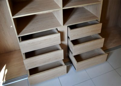 Oak interior drawers Wardrobe marbella